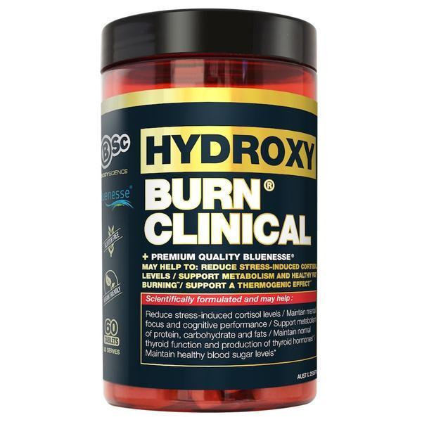 BSc Body Science HydroxyBurn Clinical 60 Tabs - Supplements.co.nz