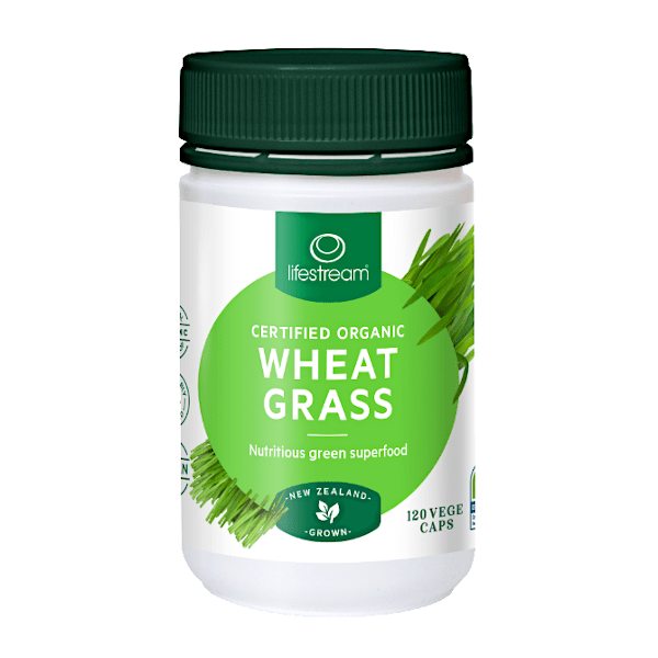 Lifestream Wheat Grass 120 Caps