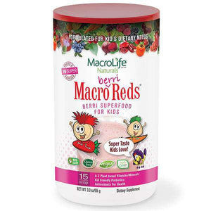 MacroLife Naturals Macro Berri Reds for Kids 95g