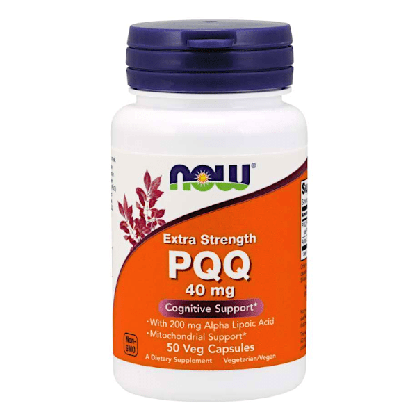 Now Foods Extra Strength PQQ 40mg 50 Caps
