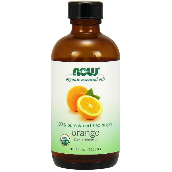 Now Foods Organic Orange Oil 118ml