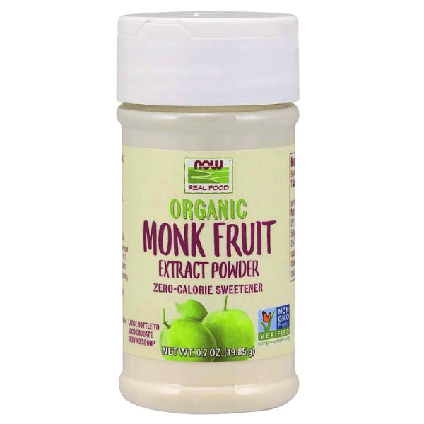 Now Foods Organic Monk Fruit Extract 19.85g