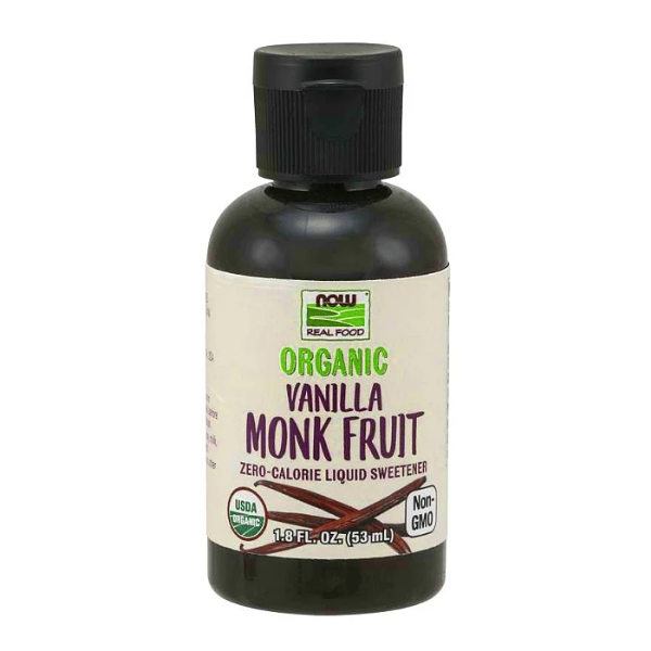 Now Foods Organic Monk Fruit Liquid Sweetener 53/59ml
