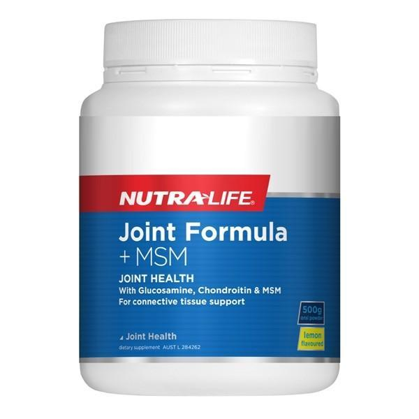 Nutralife Joint Formula + MSM 500g - Supplements.co.nz