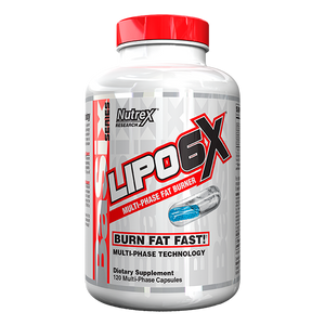 Nutrex Lipo-6X Fat Burner 120 Caps - Supplements.co.nz