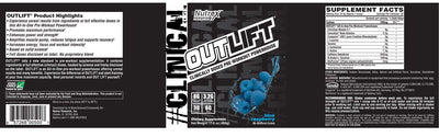 Nutrex Outlift Pre-Workout 20 Serves - Supplements.co.nz