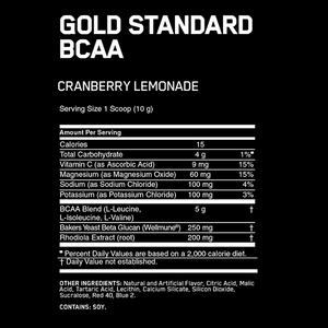 Optimum Nutrition Gold Standard BCAA Train + Recover 28 Servings
