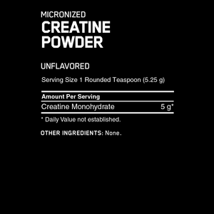Optimum Nutrition Creatine 600g - Supplements.co.nz