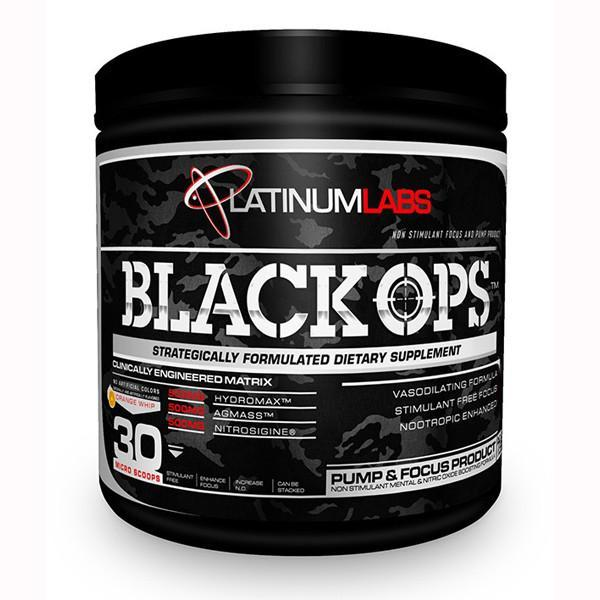 Platinum Labs - Platinum Labs Black OPS 30 Servings - Supplements.co.nz