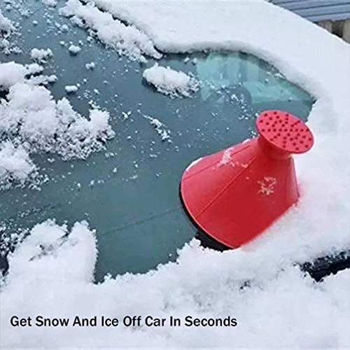 Magical Round Windshield Ice Scraper - Dot Com Product