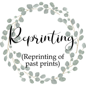 Release One:2021-Reprinting of past prints (From Round 3:2020)