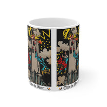 Load image into Gallery viewer, This Is Fine Tarot Mug 11oz