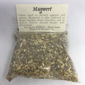 Mugwort / Black Sage 1oz : Divination & Protection