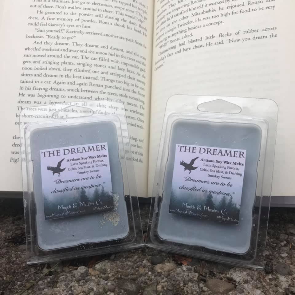 The Dreamer Wax Melts: The Raven Cycle Inspired