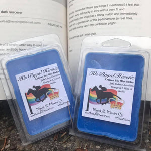 His Royal Heretic Wax Melts: Red, White, And Royal Blue Inspired