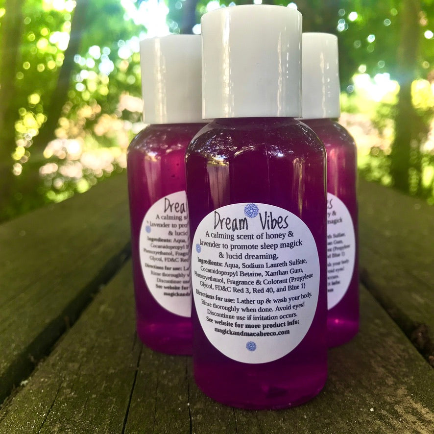 Dream Vibes Body Wash: Lucid Dreaming & Sleep Magick