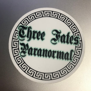Three Fates Paranormal Sticker [Donation]