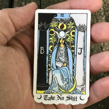 Load image into Gallery viewer, Sassy High Priestess Tarot Sticker