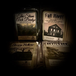 Haunted Places Wax Melts: Full Collection 1