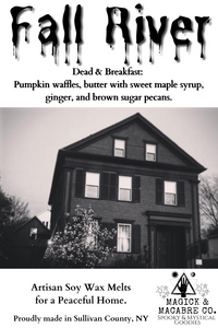 Fall River Wax Melts: Haunted Places Line