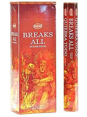 Breaks All Incense Sticks (20 Pack)