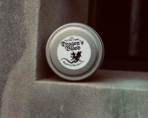 Dragon's Blood Soy Wax Candle (4oz Tin)