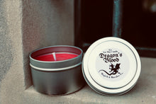 Load image into Gallery viewer, Dragon's Blood Soy Wax Candle (4oz Tin)