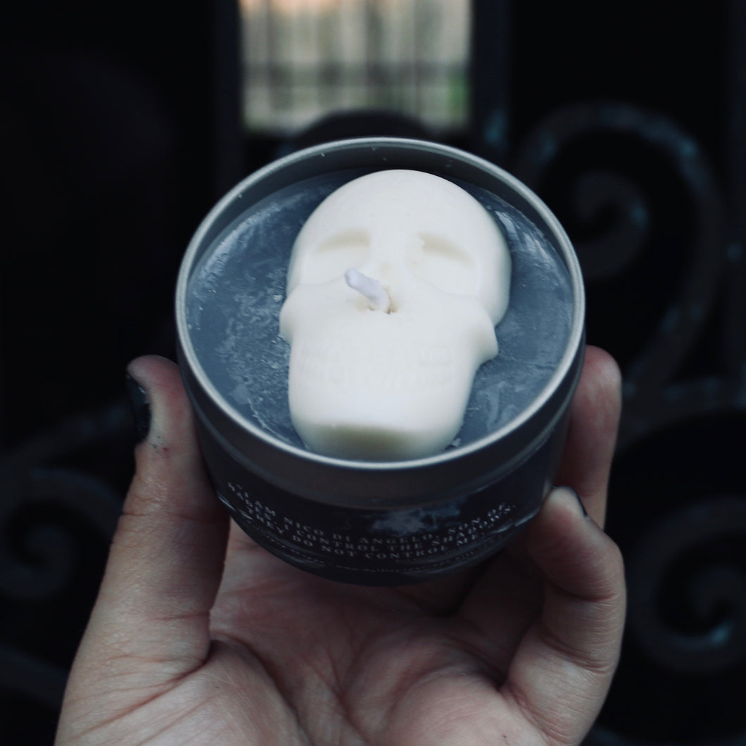 The Ghost King Candle: Nico Di Angelo / Percy Jackson Inspired