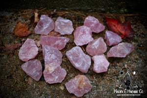 Rose Quartz Crystal (Rough)