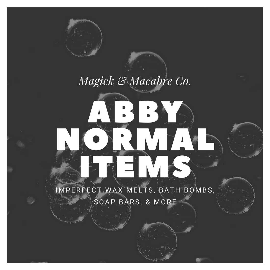 Abby Normal Products: Clearance & Imperfect Items
