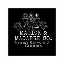 Load image into Gallery viewer, Magick & Macabre Co. Brand Sticker
