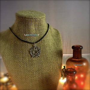 Pentacle Necklace: Handmade & Blessed Wiccan Jewelry