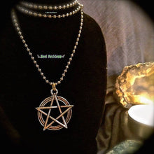 Load image into Gallery viewer, Pentacle Necklace: Handmade & Blessed Wiccan Jewelry