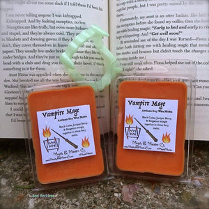 Vampire Mage Wax Melts: Baz Pitch Inspired