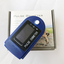 Load image into Gallery viewer, Digital Fingertip Pulse Oximeter Blood Oxygen Meter  Monitor