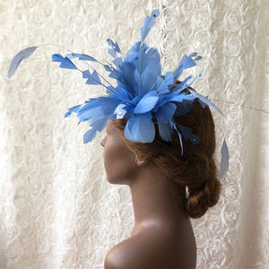 Handmade Goose Feather Twisted Feather Mount Millinery Hat Fascinators