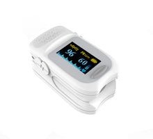 Load image into Gallery viewer, Fingertip Pulse Oximeter Blood Oxygen Saturation Monitor with Lanyard
