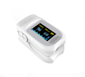 Fingertip Pulse Oximeter Blood Oxygen Saturation Monitor with Lanyard