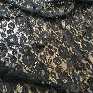 3 Meters Alencon Lace Fabric  Eyelash Lace Fabric Soft Corded Flower Mesh Fabric for Lingerie Shorts 40 inches Width