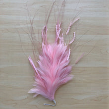 Load image into Gallery viewer, Fluffy Fascinator Flower Feather Twist Feather Craft   Millinery Hat Accessories for Formal Day