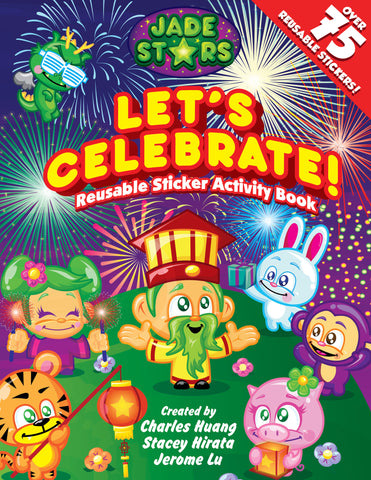 Jade Stars: Let's Celebrate! Sticker Activity Book