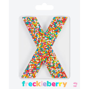 Freckle Letter X