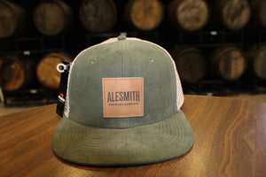 Corduroy flat bill hat - Alesmith Brewing Company