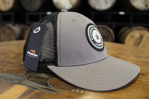 Gray Trucker Hat w/ Black Logo Patch - Alesmith Brewing Company