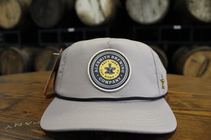 Unstructured Steel Patch Hat w/ Black Rope - AleSmith Brewing Co.