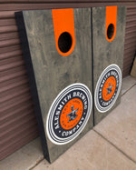 Load image into Gallery viewer, AleSmith Logo Cornhole Board Set - Alesmith Brewing Company