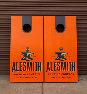 AleSmith Logo Cornhole Board Set - Alesmith Brewing Company