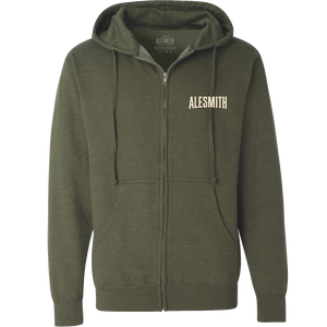 Zip-up Hoodie - AleSmith Brewing Co.