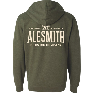 Zip-up Hoodie - Alesmith Brewing Company