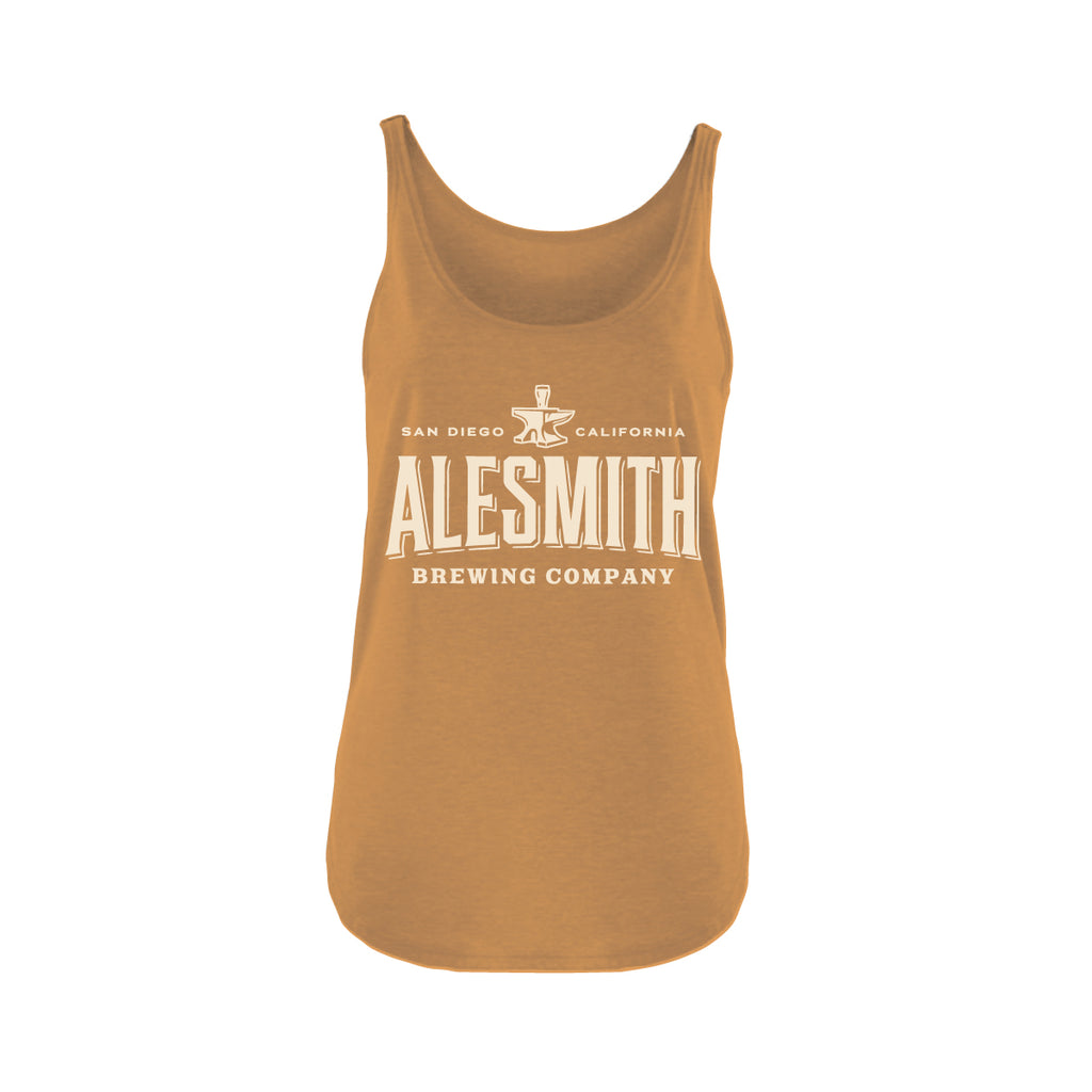 AleSmith Women's Tank - Gold - Alesmith Brewing Company